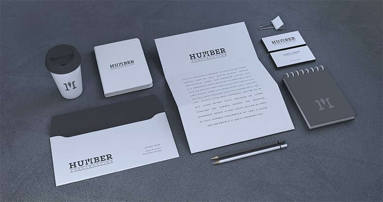 Humber Construction Branding 2