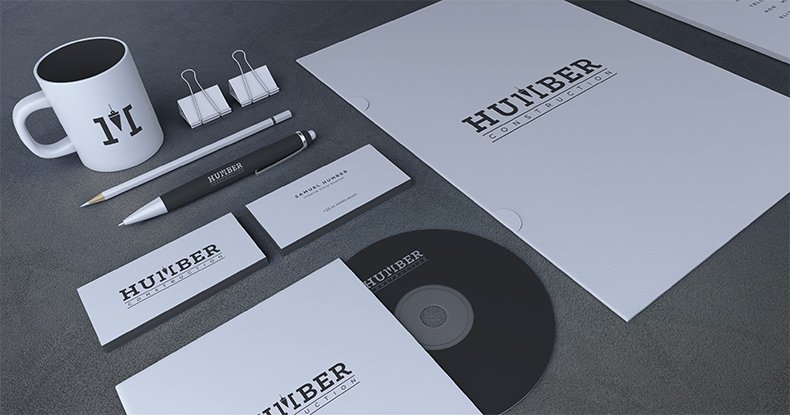 Humber Construction Branding 3