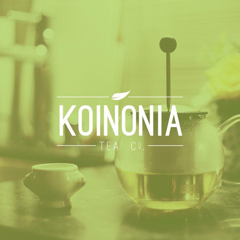 Kononia Tea Company Branding 4