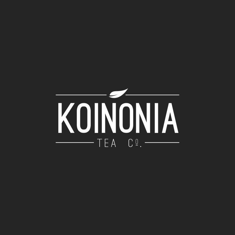 Kononia Tea Company Branding