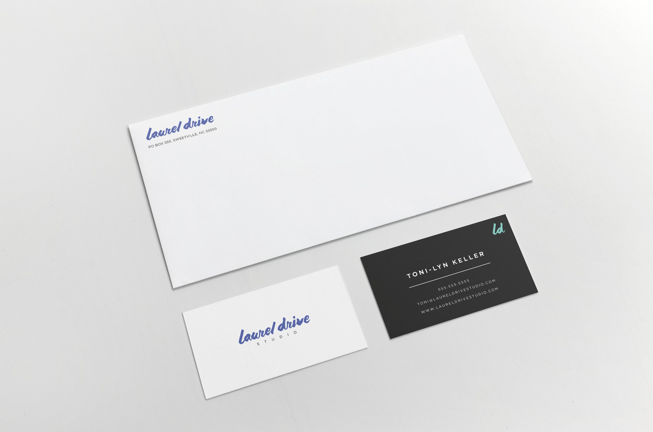 Laurel Drive Photography Studio Branding - 6